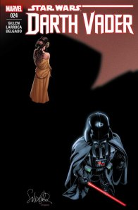 Darth Vader #24, 2016, cover, Salvador Larroca