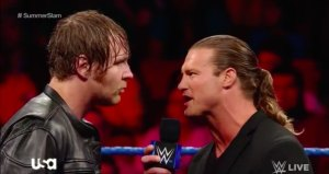 Dean Ambrose, Dolph Ziggler, Smackdown, August 16, 2016