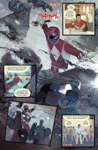 Mighty Morphin Power Rangers Annual #1, 2016, Goni Montes cover