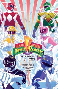 Mighty Mophin Power Rangers #1 2016