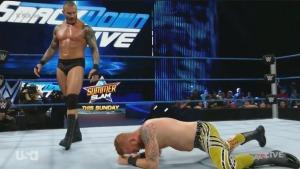 Randy Orton, Heath Slater, WWE Smackdown, August 16, 2016