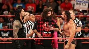 Roman Reigns, Mick Foley, Rusev, WWE Raw, August 15, 2016