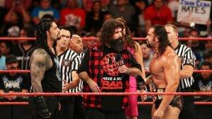 Roman Reigns, Mick Foley, Rusev, WWE Raw, August 15, 2016