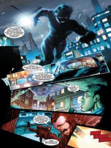 Nightwing #19, 2013, Brett Booth, running