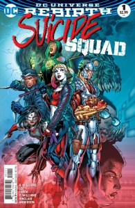 Suicide Squad #1, 2016, cover, Jim Lee