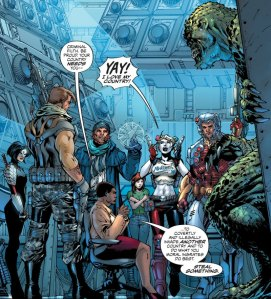 Suicide Squad #1, 2016, Jim Lee, group shot