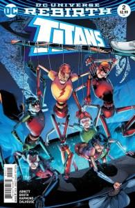 Titans #2, 2016, Brett Booth