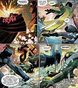 All-Star Batman #1, 2016, John Romita Jr., shut up and die