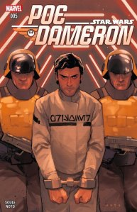 Star Wars: Poe Dameron #5, 2016, cover