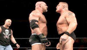 WWE Wrestlemania XX, Bill Goldberg, Steve Austin