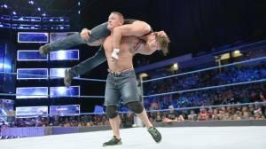 John Cena, Dean Ambrose, WWE Smackdown, September 20, 2016