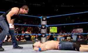 Dean Ambrose, John Cena, WWE Smackdown, September 13, 2016