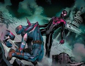 Civil War II #5, 2016, Spider-Man, Captain America