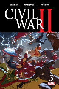 Civil War II #5, 2016, cover