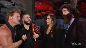 WWE Raw, September 5, 2016, Chris Jericho, Kevin Owens, Stephanie McMahon, Mick Foley