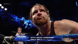 Dean Ambrose, WWE Smackdown, September 20, 2016