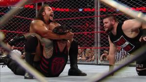 Rusev, Roman Reigns, Kevin Owens, WWE Raw, September 19, 2016