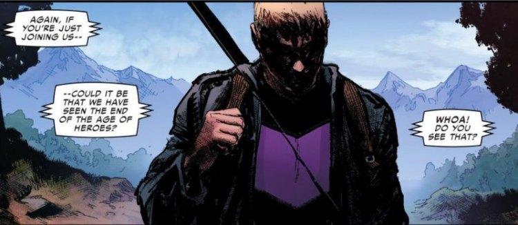 Hawkeye, Civil War II #5, 2016, David Marquez