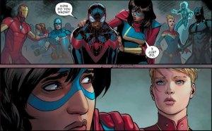 Ms. Marvel, Civil War II #5, 2016