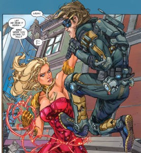 Teen Titans #1, 2014, Kenneth Rocafort, Wonder Girl