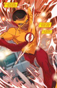 Teen Titans: Rebirth #1, 2016, Jonboy Meyers, Kid Flash