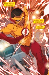 Teen Titans: Rebirth #1, 2016, Jonboy Meyers, Kid Flash