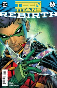 Teen Titans: Rebirth #1, 2016, cover, Jonboy Meyers