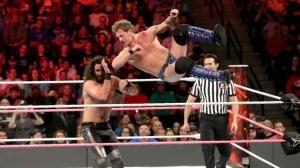 Seth Rollins, Chris Jericho, WWE Raw, October 17, 2016