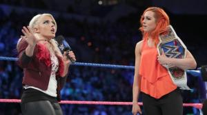 Alexa Bliss, Becky Lynch, WWE Smackdown, October 25, 2016