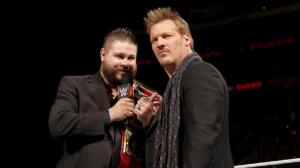 Kevin Owens, Chris Jericho, WWE Raw, October 3, 2016