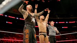 Gallows and Anderson, WWE Raw, October 3, 2016