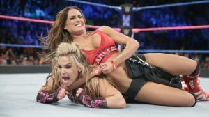 Nikki Bella, Natalya, WWE Smackdown, October 25, 2016