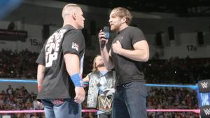 John Cena, Dean Ambrose, WWE Smackdown, October 4, 2016