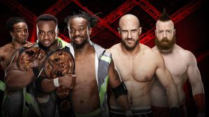 The New Day, Sheamus, Cesaro, WWE Hell in a Cell 2016