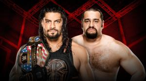 WWE Hell in a Cell 2016, Roman Reigns, Rusev