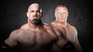 Bill Goldberg vs. Brock Lesnar