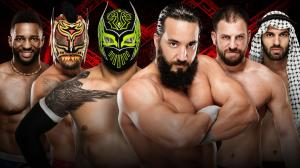 WWE Hell in a Cell 2016, Cedric Alexander, Sin Cara, Tony Nese,