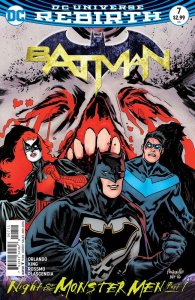 Batman #7, 2016, cover, Yanick Paquette