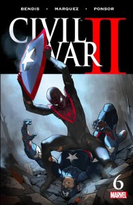 Civil War II #6, 2016, cover, Marko Djurdjevic
