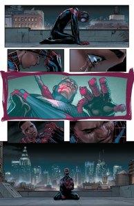 Civil War II #6, 2016, David Marquez, Miles Morales vision