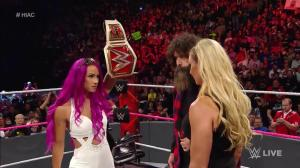 Sasha Banks, Mick Foley, Charlotte, WWE Raw, October 24, 2016
