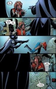 Darth Vader #25, 2016, airlock, Doctor Aphra