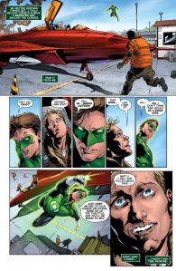 Green Lanterns #9, 2016, Robson Rocha, Frank Laminski, Hal Jordan