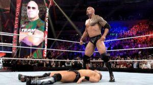 WWE Survivor Series 2011, The Rock