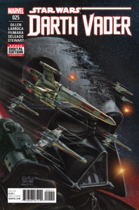 Star Wars: Darth Vader #25, 2016, cover