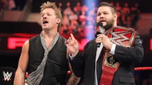 Chris Jericho, Kevin Owens, WWE Raw, November 7, 2016