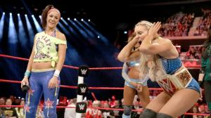 Bayley, Charlotte, WWE Raw, November 7, 2016