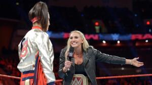Bayley, Charlotte, WWE Raw, October 31, 2016