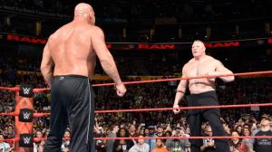 Bill Goldberg, Brock Lesnar, WWE Raw, November 14, 2016