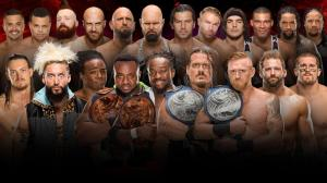 WWE Survivor Series 2016, Tag Team Match
